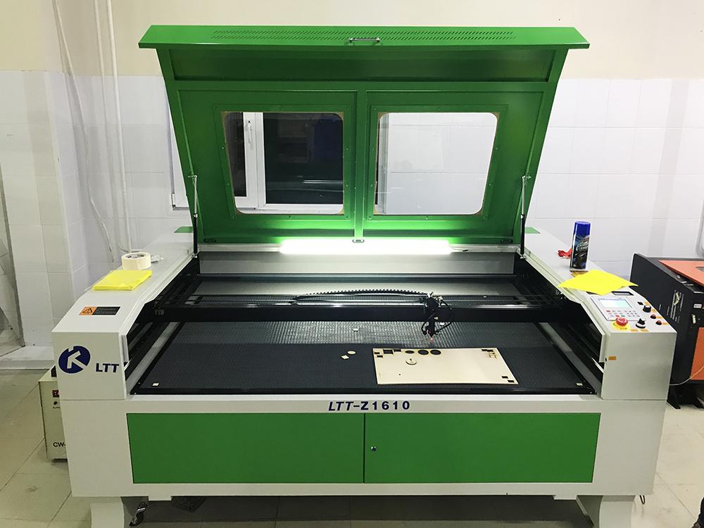 Новый станок для лазерной резки