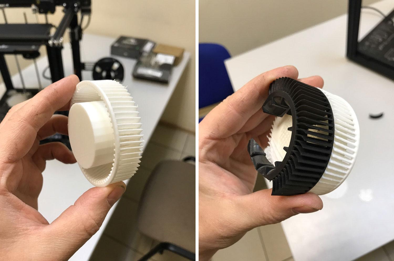 Запчасти на 3D принтере